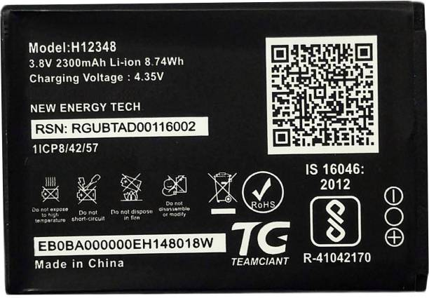 Electofic Mobile Battery For  JIO WiFi Dongle M2S Fi 2 Wireless Router, 4g FI2, M2 hot spot (H12348)