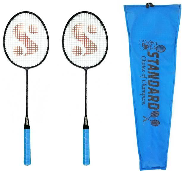 STANEX Hero with cover Multicolor Strung Badminton Racquet