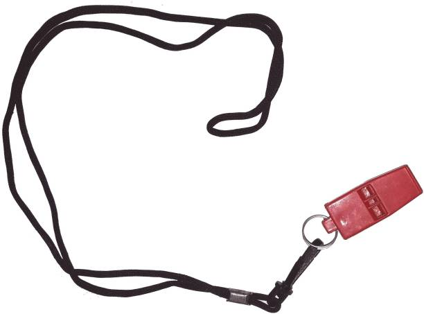 SPORTSHOLIC Plastic Pea Less Sports Whistle For Football, Sports Activities, Coaching Pealess Whistle