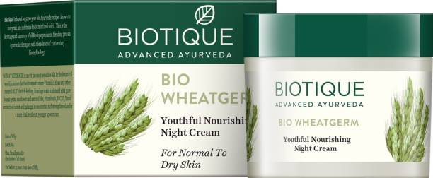 BIOTIQUE Bio Wheat Germ Nourishing Night Cream