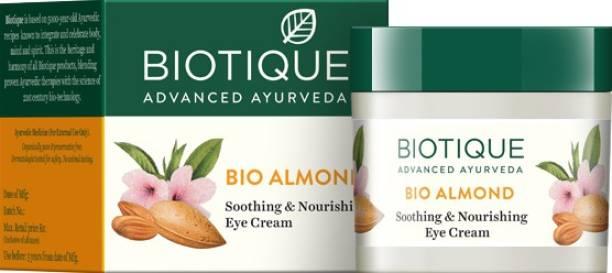 BIOTIQUE Biotique Bio Almond Soothing & Nourishing Eye Cream