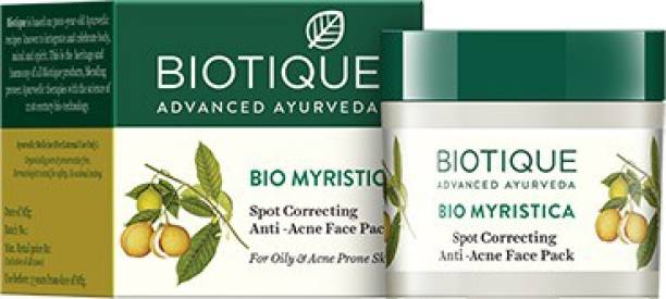 BIOTIQUE BIO Myristica Spot Correcting Anti Acne Face Pack