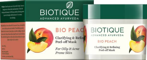 BIOTIQUE Bio Peach Clarifying & Refining Peel-Off Mask