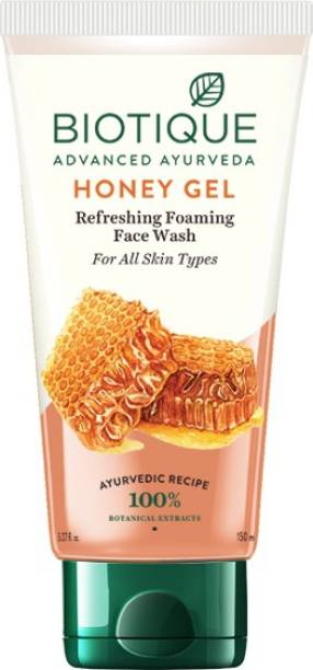 BIOTIQUE Honey Gel Refreshing Foaming  Face Wash