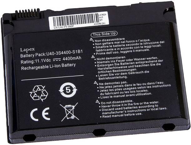 Lapex Wiro U40-3S4000-G1B1 6 Cell Laptop Battery
