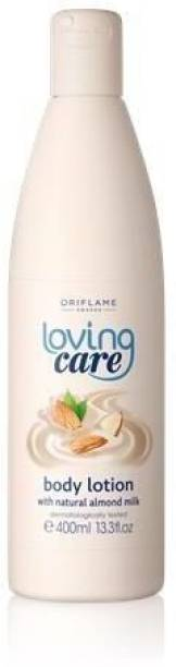 Oriflame LOVING CARE BODY LOTION WITH NATURAL ALMOND MILK
