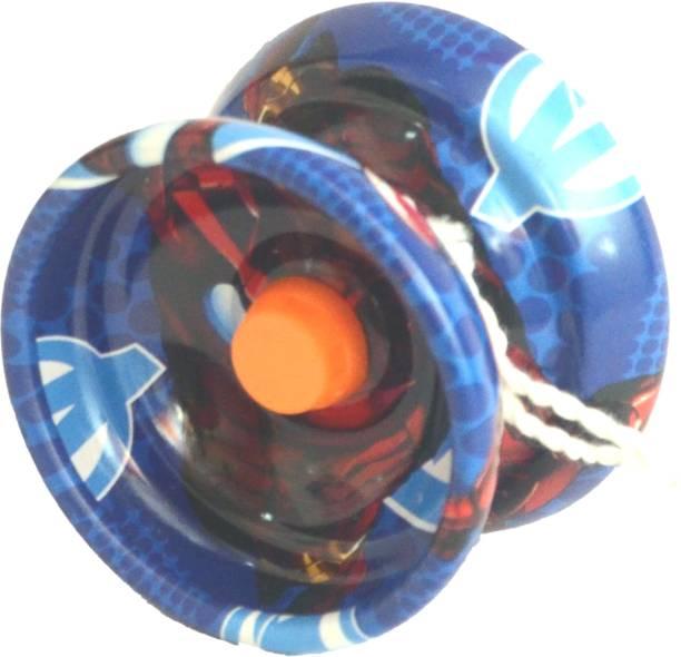 Homeshopeez Avenger Metal YoYo With Bearing & String Toy Yoyo