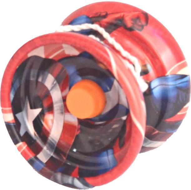 Homeshopeez Best Quality Metal Yoyo with Bearing & String Toy Yoyo