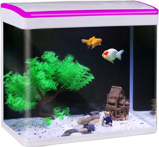 Jainsons Pet Products Fish Combo Pink MJ-M360 Rectangle Aquarium Tank