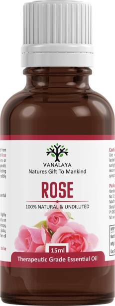 Vanalaya Rose essential oil Pure and Natural therapeutic grade
