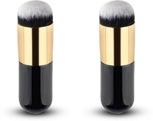 CETC Foundation Brush/Blush Brush, Set of 2