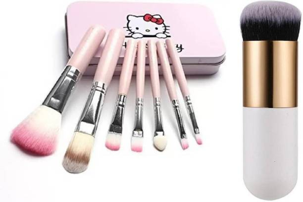 CETC Makeup Brush Set of 8 with Foundation Brush