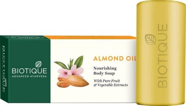 BIOTIQUE Bio Almond Oil Nourishing Soap