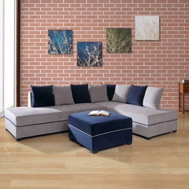 EVOK Apollo Fabric 5 Seater  Sofa