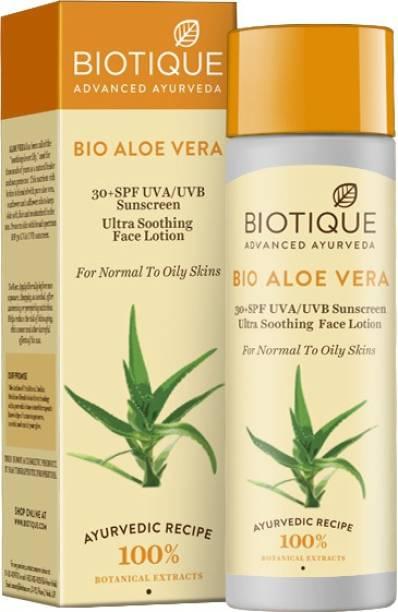 BIOTIQUE Bio Aloe Vera - SPF 30 PA+