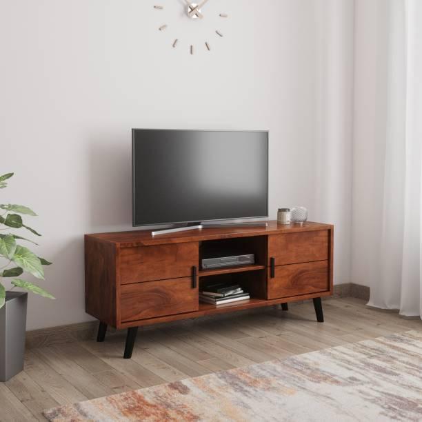 Induscraft Insia Acacia Solid Wood TV Entertainment Unit