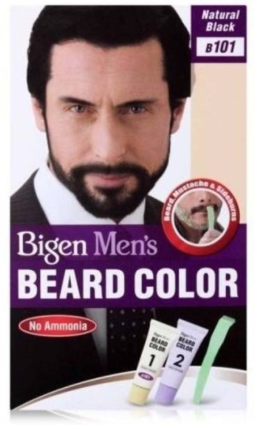 Bigen Men's Beard Color B 101 ( Natural Black ) , natural black