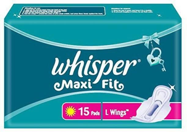 Whisper Maxi Fit L Wings Sanitary Pad