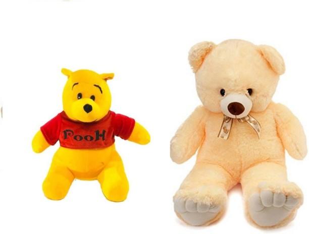 Dollhouse Miniature Teddy Bear Sitting on a Yellow Alphabet Childrens Block