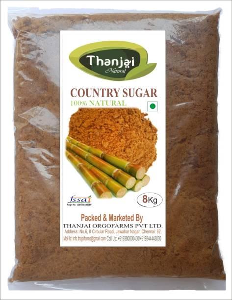 THANJAI NATURAL Organic Country Sugar 8 KGS 100% Pure Sugar