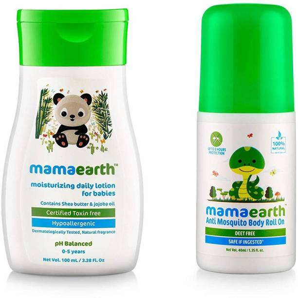 MamaEarth Lotion 100 + Body roll on …