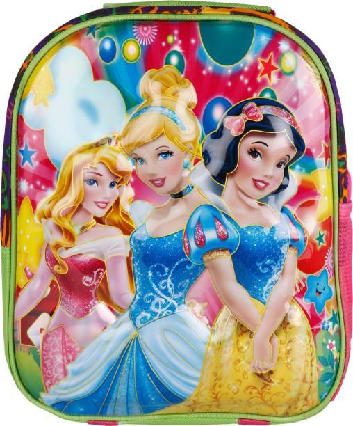3498b3d00c0 Tinystar Disney Princess Kids 3D Effect Lightweight 13 Inches Waterproof  School Bag