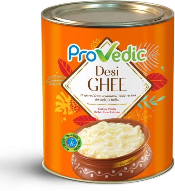 ProVedic Pure Desi Ghee - 1L Tin 1 L Tin