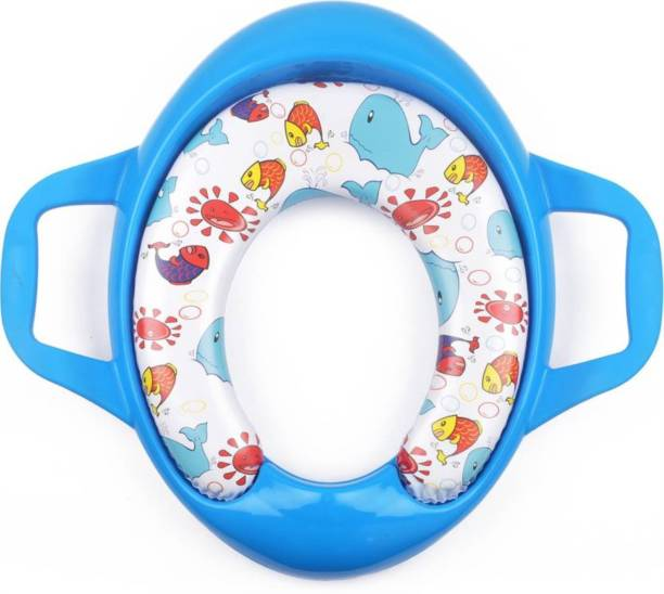 Toyland Soft Cushion Comfortable Potty Trainer Seat for Potty Training Seat with Support Handles for kids