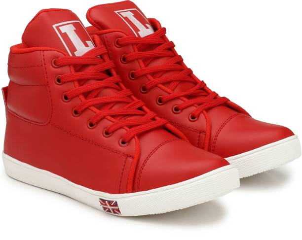 a7d54372f80f Red Sneakers - Buy Red Sneakers online at Best Prices in India ...