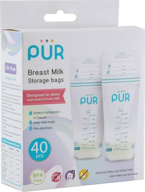 PUR Breast milk storage bags