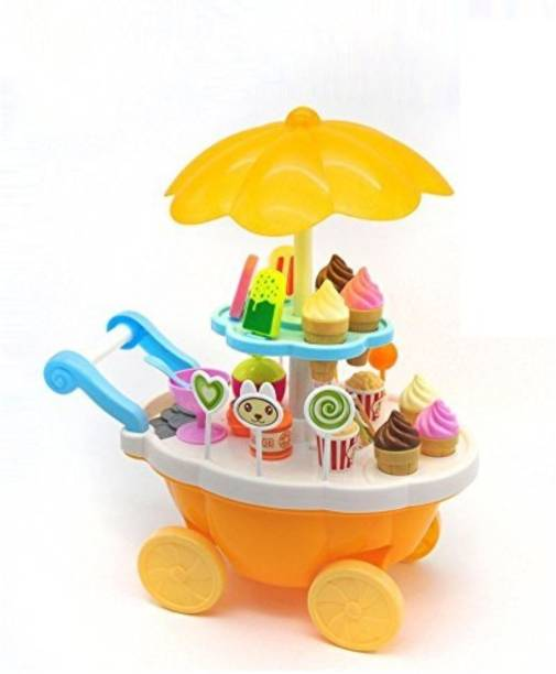 Smartcraft Sweet Shop , Sweet Shop Trolley Cart with Music and LED Lights for Kids