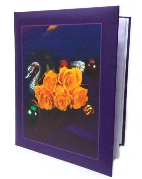 Cute Shopping Network MINI Photo Album with Extra Clear PVC Film, 80 Photos, (Photo Size Supported: 4'x6') Album