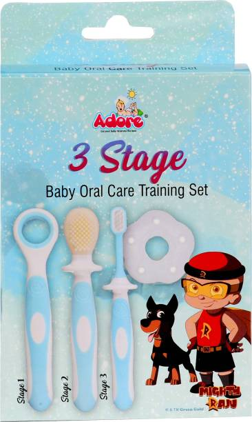 Mighty Raju 3 Stage Baby Oral Care Training Set