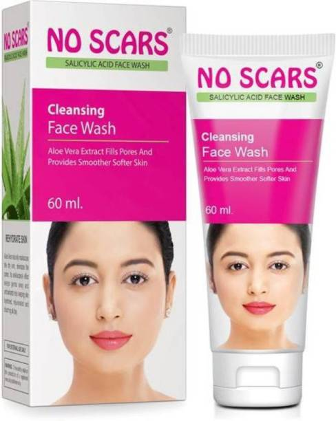 NO SCARS FACE WASH WITH SALICYLIC ACID(PACK OF 2) Face Wash