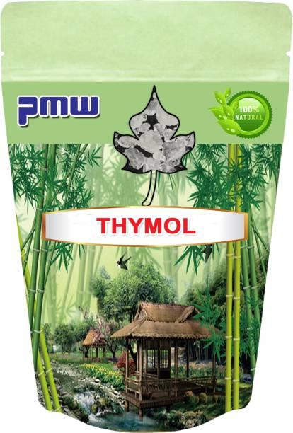 PMW Pure Thymol Crystals - Ajwain Ki Phool - Joni Guti - Yamani - Ajamo - Vamu Puvvu - 100 Grams