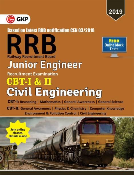 RRB (Railway Recruitment Board) 2019 - Junior Engineer CBT -I & II - Civil Engineering