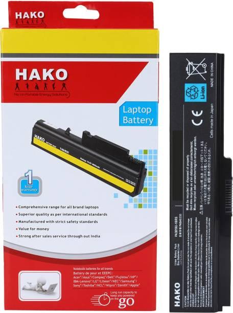 HAKO Toshiba Satellite A665d C600 C640 6 Cell Laptop Battery