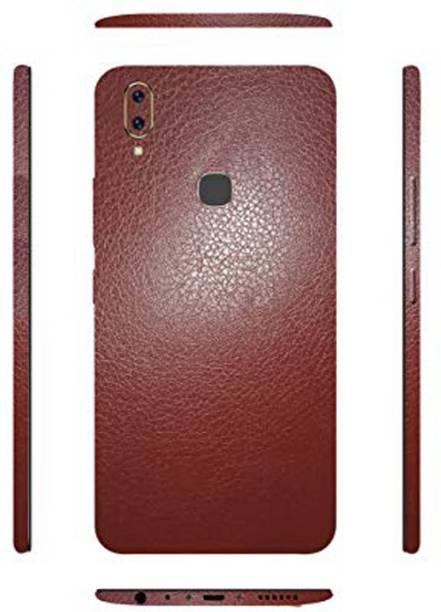Johra Leather Back Skin Protector Sticker Protective Film Wrap Vivo V9 Mobile Skin