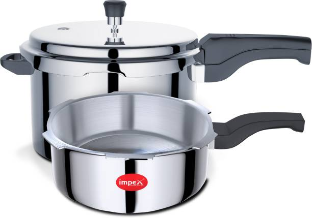 IMPEX IPC 5C3 3 L, 5 L Induction Bottom Pressure Cooker