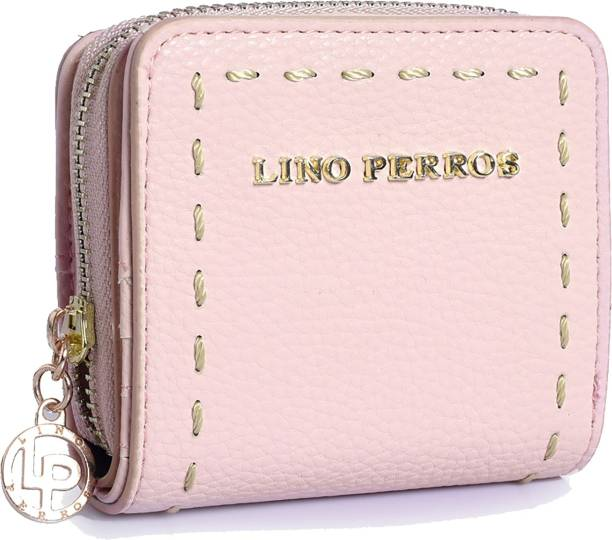 LINO PERROS Women Pink Artificial Leather Wallet