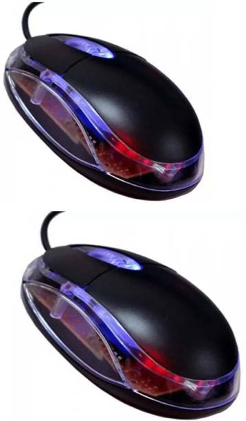 Terabyte TB-36bp Pack of Two Wired Optical Mouse