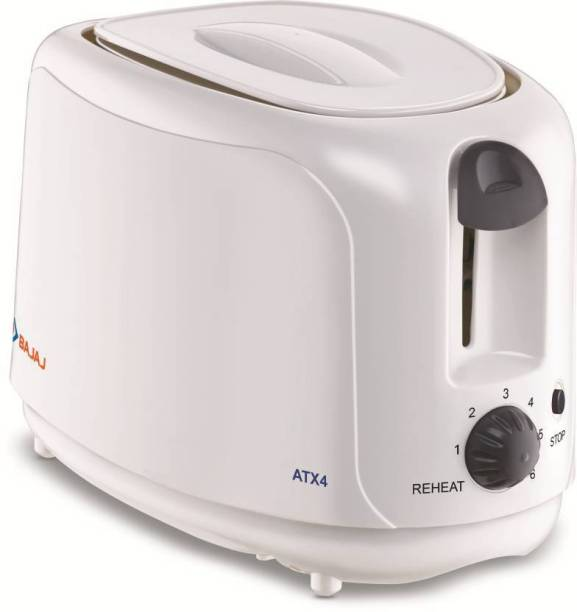 BAJAJ ATX 4 POP UP WHITE 750 W Pop Up Toaster