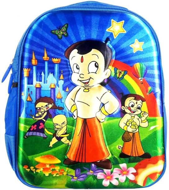 84fda83ebe7 Tinystar Chota Bheem Kids 3D Effect Lightweight 13 Inches Waterproof School  Bag