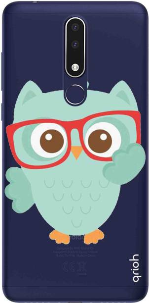 QRIOH Back Cover for Nokia 3.1 plus