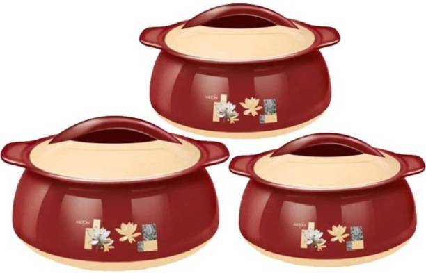 Milton Pack of 3 Thermoware Casserole Set