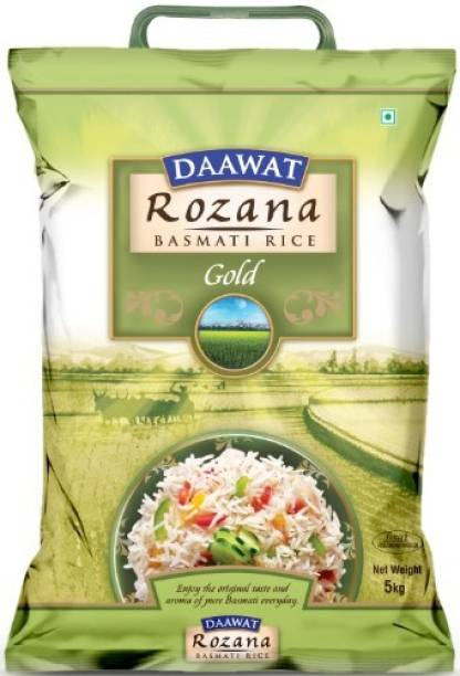 Daawat Rozana Gold Basmati Rice (Medium Grain)