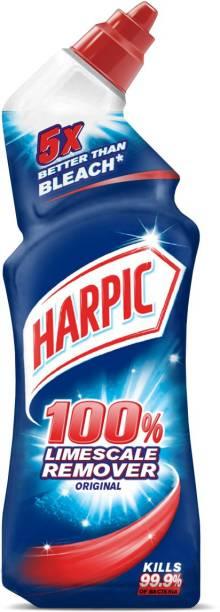 Harpic 100% Limescale Remover Original Regular Gel Toilet Cleaner
