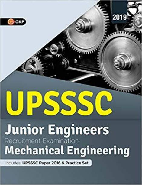 Upsssc 2019 Junior Engineers Mechanical Engineering Paper I & II Guide