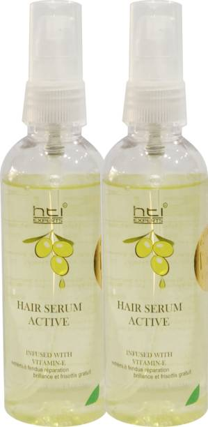 HTI Olive Strong & Strengthening Hair Serum Pack of TWO