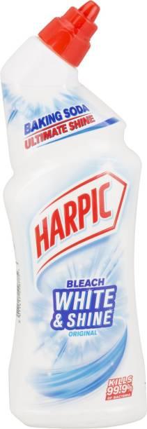 Harpic Bleach White And Shine Original Regular Gel Toilet Cleaner
